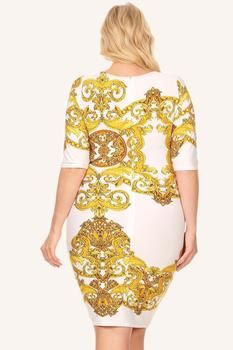 475fd2358e Plus Size For Love Layered Peplum Dress – Plussizefix Bachelorette Outfits