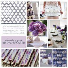 Wedding Shower Themes | Lavender Bridal Shower
