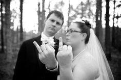 Favorite ring shot,  wedding gangsters