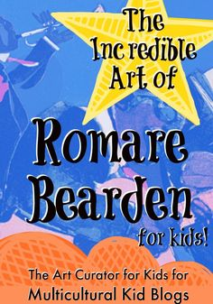 Multicultural Kids Blogs and The Art Curator for Kids - The Incredible Art of Romare Bearden for Kids - Black History Month Blog Hop