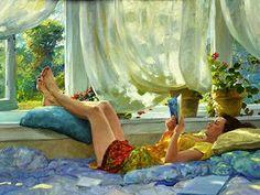 Hettinger, David (1946-...) Summer breeze