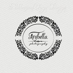 Damask  Logo Design Premade Photography by WhimsicalLogoDesign, $20.00