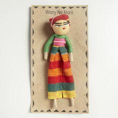 Large Guatemalan Worry Doll