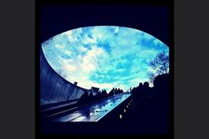We asked readers to share photos with us about how they start their morning routines. Here's one from Christine Vineyard. The caption: DuPont Circle Metro at 7:55 a.m. on April 2, 2012. Device: iPhone 4S.