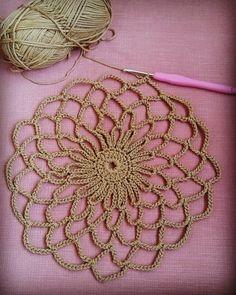 Discover thousands of images about Crochet French Market Bag Free Crochet Pattern Crochet Chart, Easy Crochet Patterns, Crochet Motif, Crochet Doilies, Knit Crochet, Web Patterns, Pattern Ideas, Free Pattern, Tunisian Crochet