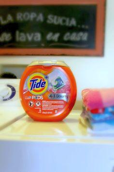 Ahorra tiempo en la lavada! Lava fácil con @tide + @downy un detergente que limpia, protege y acondiciona tu ropa #TidePODSPlusDowny #ad