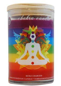 New 7-Layer Chakra Candle!