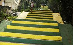 FOTOS: Ruas são enfeitadas para a Copa em todo o Brasil