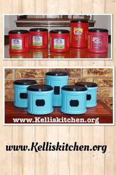 Cheap Organization with Coffee and Krylon from Kelli's Kitchen