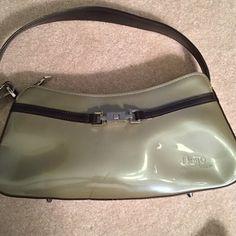 Vintage Beijo Olive Green Handbag Beijo Olive Green Handbag Vintage. Condition: Like new inside, see pic for mark on back. Beijo Bags Mini Bags