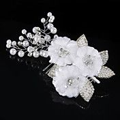 Fabric Hair Comb with Rhinestone&Pearl Weddin... – USD $ 19.99