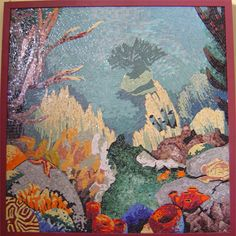 Mosaics Artists Galleries | Landscapes Gallery | art for sale | Mosaic Underwater
