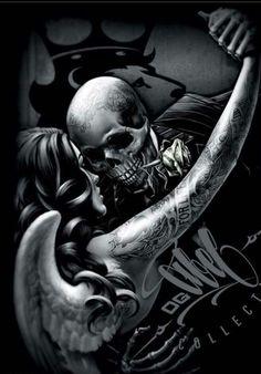 the best full sleeve tattoos Arte Cholo, Cholo Art, Sugar Skull Tattoos, Sugar Skull Art, Sugar Skulls, Bild Tattoos, Body Art Tattoos, Tattoo Art, Dark Fantasy Art