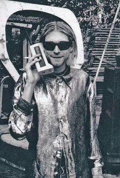 Kurt Cobain,1992