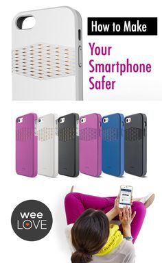 Make your smart phone safe with the #Pong case--it redirects radiation away from you AND it improves reception!