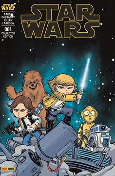 MARVEL STAR WARS Skottie Young Panini French Euro Variant Exclusive