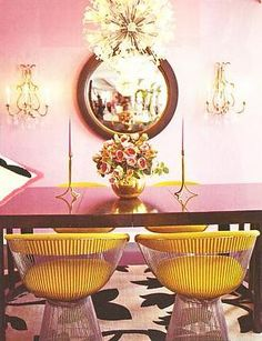 betsey johnson's dining room