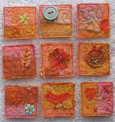 Orange Squares  -  Julia Laing
