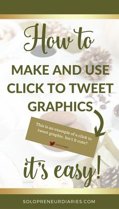 Social Media Marketing | Are you looking for quick and easy tips to improve your social media marketing this fall? Add click to tweet graphics to your blog posts! This step-by-step video tutorial shows you how to create the graphics in Canva and and make them tweetable so that you can finish 2017 strong! | Business ideas | Social Media Marketing Tools | Twitter Marketing #socialmediamarketingtips #twittertips