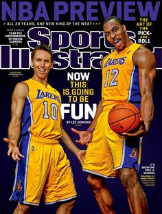 Sports Illustrated cover featuring Steve Nash and Dwight Howard