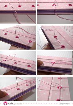 Cómo hacer la #encuadernación japonesa