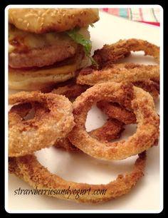 BBQ #onion rings