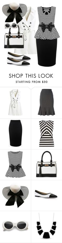 """Untitled #358"" by christy-leigh-1 ❤ liked on Polyvore featuring White House Black Market, J.W. Anderson, Alexander McQueen, Karen Millen, WearAll, IMoshion, Geox and Karen Kane"