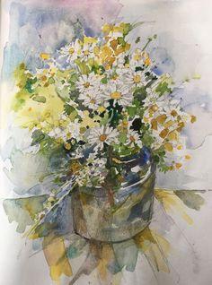 Paintings, Flowers, Art, Art Background, Paint, Painting Art, Kunst, Performing Arts, Painting