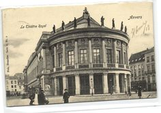 I found this on www.urbitrend-collectables.com vintage postcard antwerpen theatre royal around 1919