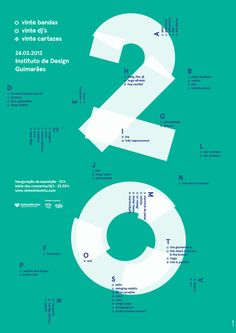 20 Poster design in Typography