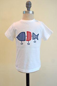 Fishing Lure Boys Applique Shirt boys fishing by PalmValleyKids, $19.95