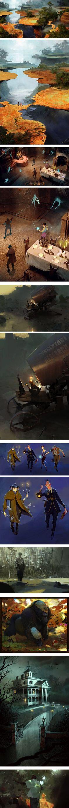 Sergey Kolesov, concept artist ★ Find more at http://www.pinterest.com/competing/