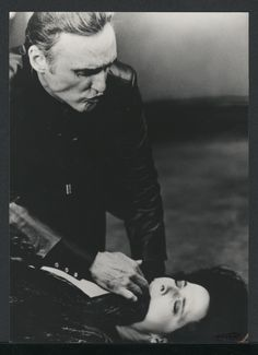 "Dennis Hopper and Isabella Rossellini in ""Blue Velvet"" (dir: David Lynch), 1986 #actor"