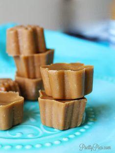 Low-Carb Caramels (Keto, Vegan, Paleo) PrettyPies