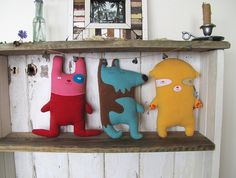 Couchies on the shelf by meezi, via Flickr