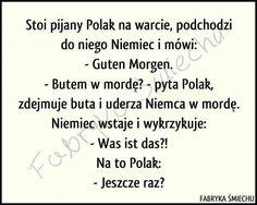 30 najlepszych kawałów na poprawę humoru – Demotywatory.pl Wtf Funny, Funny Cute, Bts Memes, Funny Memes, Good Mood, Texts, Clever, Wisdom, Lol