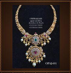 Antique Jewellery Designs, Gold Earrings Designs, Gold Jewellery Design, Necklace Designs, Gold Designs, Gold Wedding Jewelry, Gold Jewelry Simple, Bridal Jewelry, Pearl Jewelry