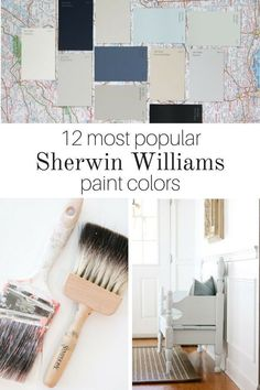 Popular Sherwin Williams paint colors create a list of the most trending colors of With the best colors at your finger tips, you will find picking out a hue for your room to be so much easier. So, no need to ask the question how to pick an interior Navy Paint Colors, Indoor Paint Colors, Bedroom Paint Colors, Vintage Paint Colors, Gray Paint, Trending Paint Colors, Popular Paint Colors, Best Interior Paint, Interior Paint Colors