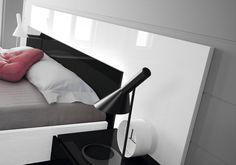 Nice and comfortable bedroom by Muebles Hermida #NOX
