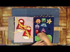MOM'S LOVE Quiet book / Libro de fieltro - YouTube