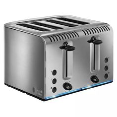 Buy a used Russell HOBBS Buckingham Toaster Stainless Steel. ✅Compare prices by UK Leading retailers that sells ⭐Used Russell HOBBS Buckingham Toaster Stainless Steel for cheap prices. Cheap Toaster, Stainless Steel Toaster, Brushed Stainless Steel, Cooking Appliances, Small Kitchen Appliances, Black Toaster, Retail Websites, Cord Storage, Toaster