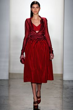 Alexandre Herchcovitch Fall 2013 Ready-to-Wear Collection