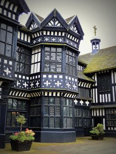Bramall Hall, a timber framed Tudor era manor house in Stockport, Greater Manchester, England by perseverando