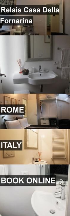 Hotel Relais Casa Della Fornarina in Rome, Italy. For more information, photos, reviews and best prices please follow the link. #Italy #Rome #RelaisCasaDellaFornarina #hotel #travel #vacation