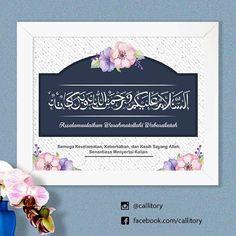 Kaligrafi salam, cocok buat ditaruh di pintu kamar kamu loh.. koleksi kaligrafi dari callitory yuk.. wujudkan rumah idaman bernuansa islami dan indah.. :) . Kode: UF-001 (dark blue) . Frame minimalis tanpa kaca. Tersedia ukuran: - 6R (15 × 20 cm) = 48.000 - 8R (20 x 25 cm) = 53.000 - 10R (25 x 30 cm) = 58.000 *harga promo untuk bulan april . Untuk order atau tanya2 silakan menghubungi admin kami via WA/LINE: Admin1 : 085730102094 Admin2 : 089688800473 *pilih salah satu ^^ . Orderan akan di…