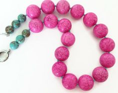 Pink & Turquoise Necklace