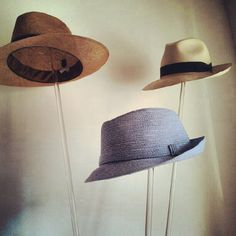 Hats are mandatory on holiday. Try a Bates fedora; super stylish