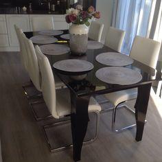 Plywood black table