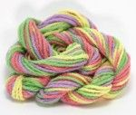 Website has cotton sock yarn with elastic for summer socks