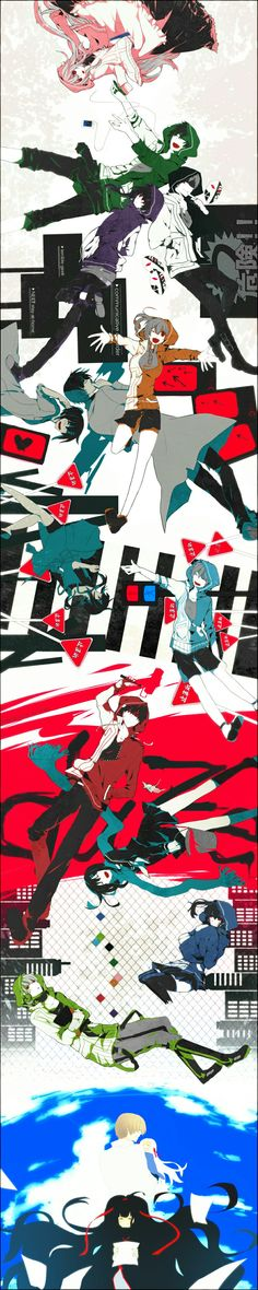 MekakuCity Actors - Loved this anime. Must. Watch. Again